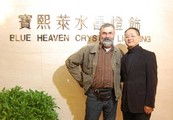 Frantisek Janak and a director of the Blue Heaven Crystal Lighting Mr.Raymond Chui