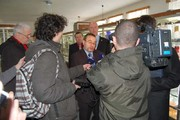 Meeting of the minister with reporters