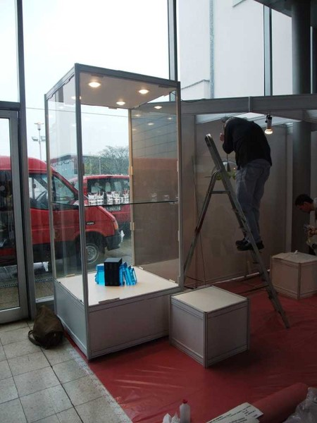 Instalation of the exhibition